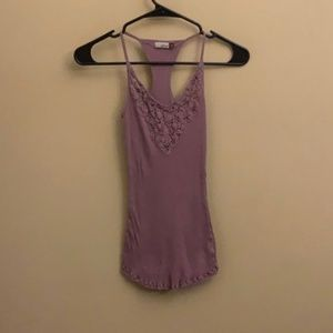 Wilfred mauve tank top